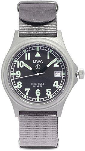 MWC G10Military Armbanduhr 100m Version mit Schraube Down Crown