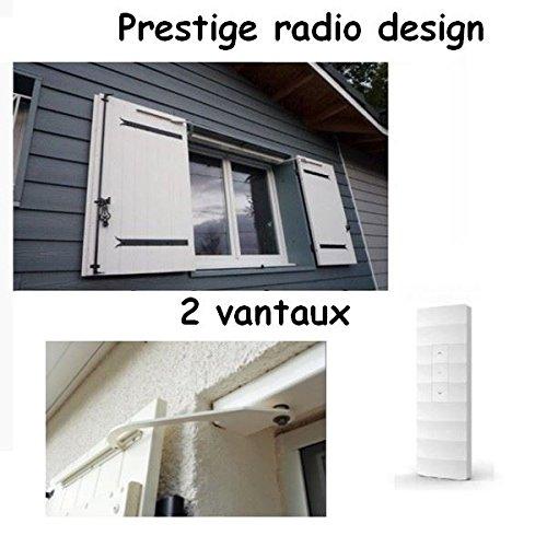 PRATIC VOLET- Motorisation Radio volets battants Prestige Radio Design 2 vantaux