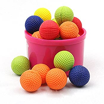 Bullet Ball For Nerf Rival,amamary 20pcs Balls Round Refill Compatible For Rival Apollo Xv-700 Blaster Rival Zeus Mxv-1200 Child Toy (Red) 5