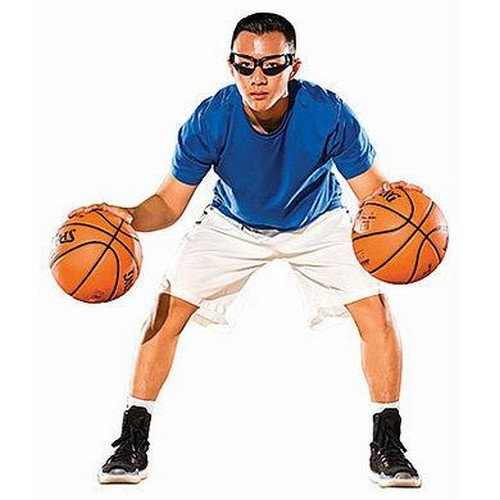 Spalding Dribble Goggles-3001645100003 Trainer Goggles, grau, One Size