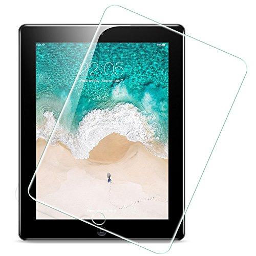ESR Panzerglas Folie kompatibel mit iPad 4 / iPad 2 / iPad 3 - Hochwertiger 9H Glas Displayschutz - Kristallklare Display Schutzfolie für iPad 2/3/4 [Blasenfrei] [Kratzfest] (Ipad 4 Screen Protector)