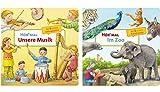 Hör mal: Unsere Musik + Hör mal: Im Zoo (2 x Pappbilderbuch im Set)
