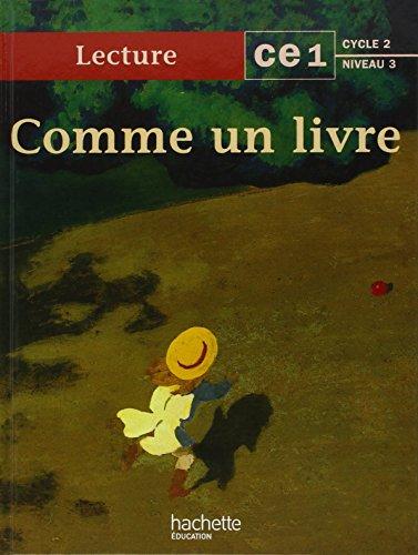 Comme un livre : lecture CE1 cycle 2 niveau 3 par Léon - d'Amba - Boirel