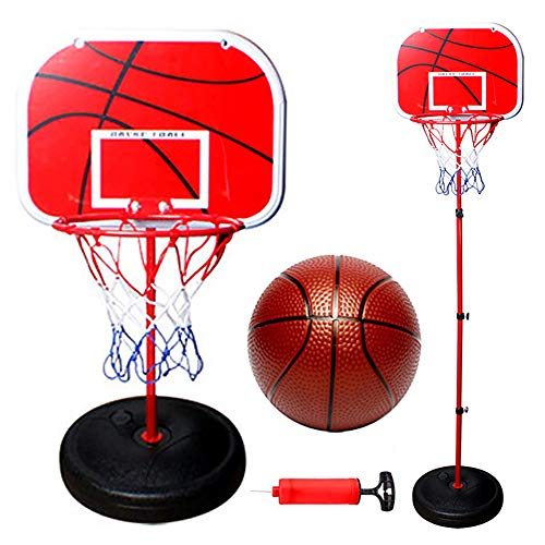 ZRK Sport Kinder Basketball Hoop Set Ständer Kompakt Net Outdoor Höhenverstellbar 1,2 M bis 1,5 M mit Ball Indoor Outdoor Sport Game Kids