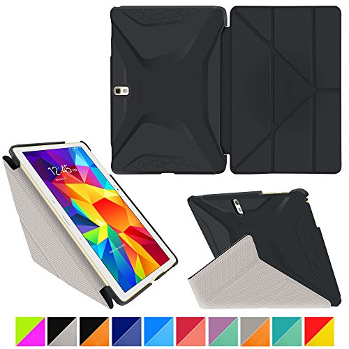 roocase-samsung-galaxy-tab-s-105-case-origami-3d-granite-black-cool-gray-slim-shell-105-inch-105-sma