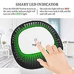 Hysure-Deumidificatore-Casa-2L-Elettrico-Silenzioso-Portatile-Basso-Consumo-Muffa-con-Indicatore-LED-Spegnimento-Automatico-per-Bambini-Adulti-Camera-da-Letto-Armadio-Ufficio-Bagno-750mlGiorno