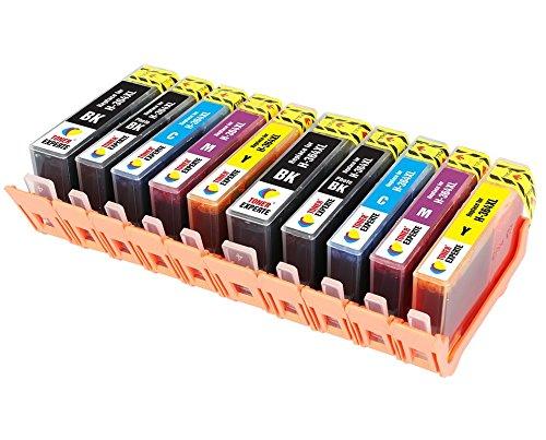 Toner experte® sostituzione per hp 364 364xl 10 cartucce d'inchiostro compatibili con hp photosmart 7510 7520 b8550 b8553 c5380 c5383 c6380 d5460 d5463 d7560 c309a c310a c310c c510a   alta capacità