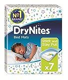 Huggies DryNites Disposable Bed Mats, Mattress Protector - 7 Mats Total