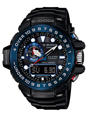 Casio De los hombres Watch G-SHOCK GULFMASTER Reloj GWN-1000B-1B