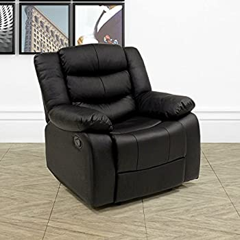 Madison Electric Leather Automatic Recliner Armchair Sofa