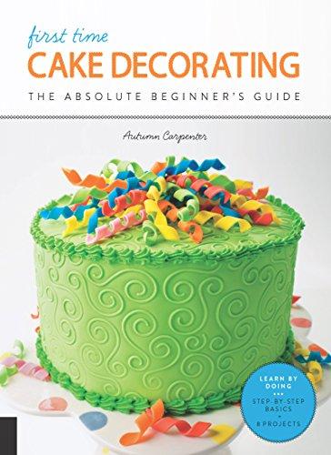 Terrific First Time Cake Decorating Ebook Autumn Carpenter Amazon Co Uk Funny Birthday Cards Online Unhofree Goldxyz