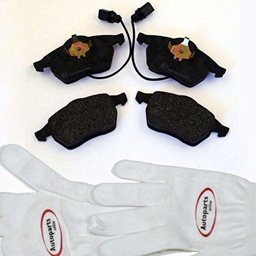 Preisvergleich Produktbild Autoparts-Online Set 60000188 Bremsbeläge Bremsklötze vorne