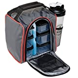 Insulated Lunch Bag | 10-Piece Set | Portable Hot Cold Meal Prep Adult