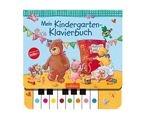 Preisvergleich Produktbild Mein Kindergarten-Klavierbuch