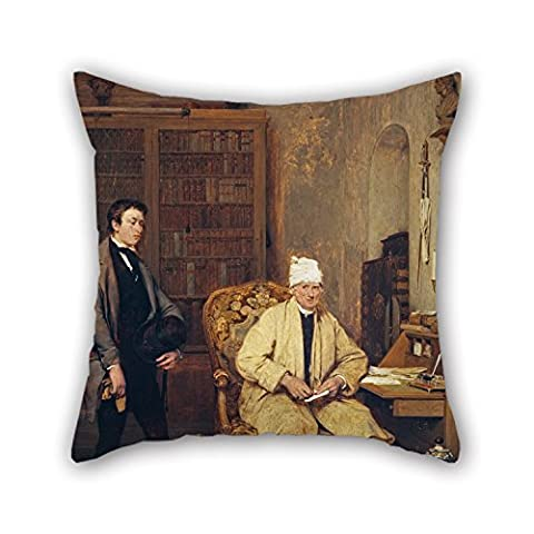Beautifulseason The Oil Painting Sir David Wilkie - The Letter Of Introduction Pillowcase Of ,20 X 20 Inches / 50 By 50 Cm Decoration,gift For Kids Girls,teens Girls,bar,teens Boys,festival (both Si