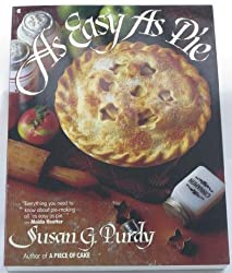 As Easy As Pie by Susan Gold Purdy (1990-10-01)