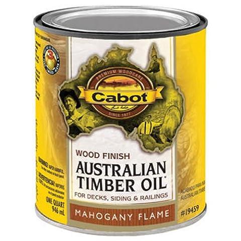CABOT SAMUEL INC - Mahogany Flame Australian Timber Oil Wood