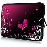 Pedea Design Tablet PC Tasche 10,1 Zoll (25,6 cm) neopren butterfly - gut und günstig
