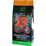 50L Premium Restaurant Quality 100% Organic & Natural Real Lumpwood Grillon BBQ CHARCOAL