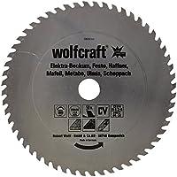 Wolfcraft 6600000 6600000-1 Hoja de Sierra Circular CV, 56 dient, Serie roja diam. 250 x 30 x 1,4 mm, 250x30x1.4mm
