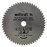 Wolfcraft Kreissäge-Blatt 250 X 30 56Z Hartmetall