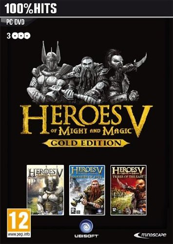 Heroes of Might and Magic V: Gold Edition (PC DVD)