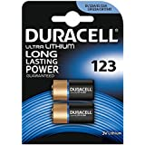 "DURACELL Lot de 10 Blisters de 2 piles photo ""Ultra"" Lithium DL 123 A"