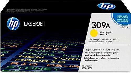 HP 309A (Q2672A) Gelb Original Toner für Color Laserjet 3550