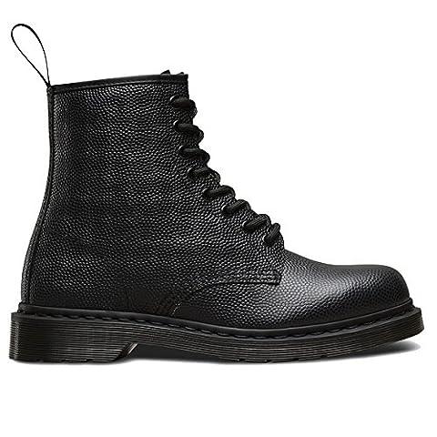 Dr.Martens Womens 1460 8 Eyelet Pebble Black Leather Boots 7 UK