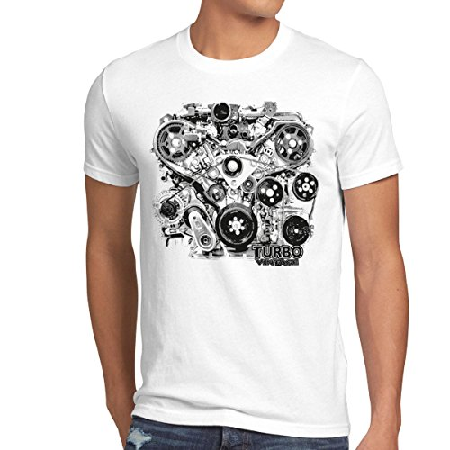 style3-turbo-vintage-t-shirt-homme-moteur-biker-action-voiture-mustang-taillelcouleurblanc