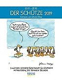 Schütze 2019: Sternzeichenkalender-Cartoonkalender als Wandkalender im Format 19 x 24 cm.