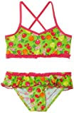Playshoes – Maillot deux pièces Fille – Girls Sun Protection Bikini Fruits