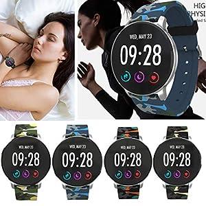 2019 Neue Intelligente Uhr, Multifunktionssportuhr Der MäNner/Frauen/Jungen/des MäDchens,Smart Watch Sport Fitness AktivitäT Herzfrequenz-Tracker Blutdruckuhr
