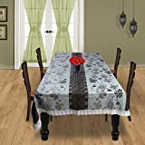 #10: Casa Furnishing Printed 6 Seater PVC Table Cover 60x90 Inches (DINING TABLE COVER 6 SEATER)