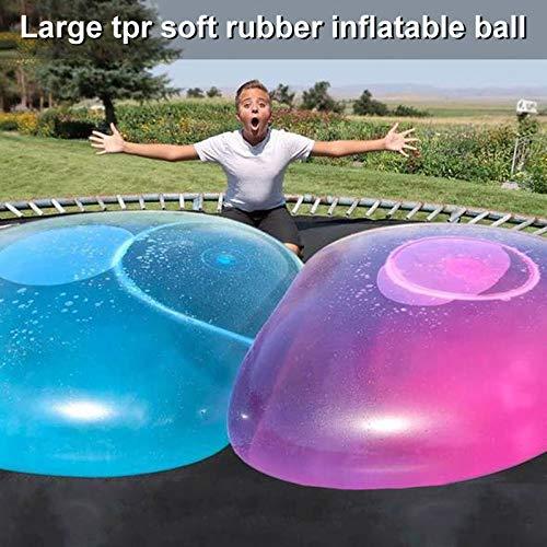 Aufblasbarer Blasen-Wasser-gefüllter Wasserball-weicher Gummiball für Kinder im Freien ()