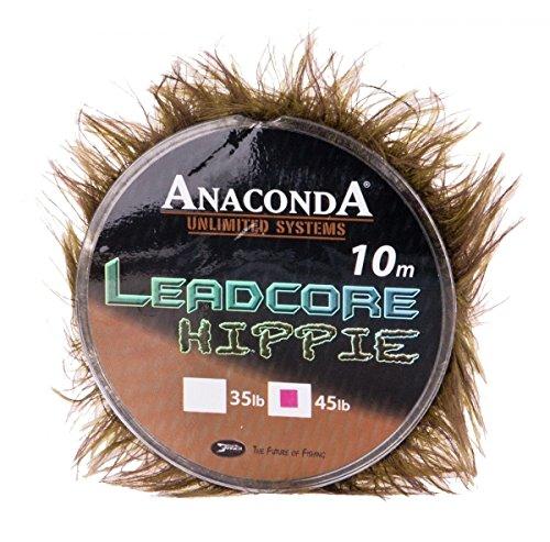 Anaconda Camou Hippie Leadcore (10m) mit Krautbüscheltarnung, Tragkraft:35lbs