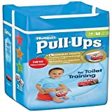 Huggies Pull Ups Potty Training Pants for Boys - Medium (11-18 kg), 14 x 6 Packs (84 Pants)