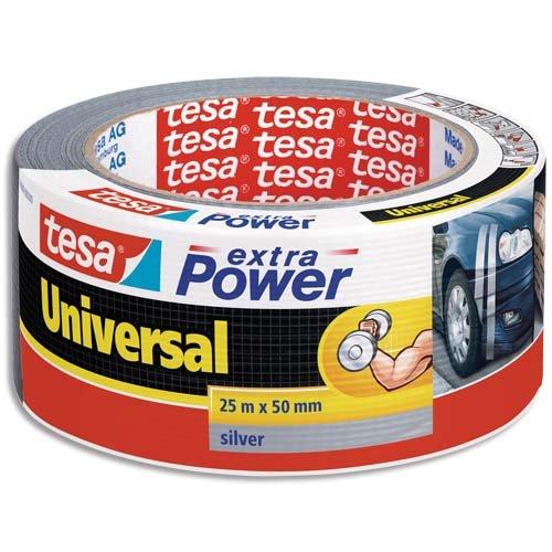 Tesa Extra power Universal, 6 Rollen, Grau