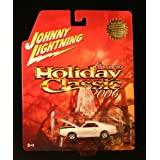 1968 AMC AMX #8 * WHITE * Johnny Lightning HOLIDAY CLASSIC 2006 COLLECTION 1:64 Scale Die-Cast Vehicle & GripClip Ornament Hanger