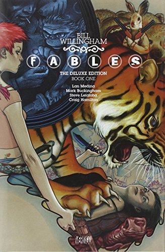 Fables Deluxe Edition Vol. 1 by Craig Hamilton (Artist), Mark Buckingham (Artist), Lan Medina (Artist), (Special Edition, 2 Oct 2009) Hardcover