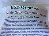 #1: BSD Organics Edible Green Camphor / Karpur/karpooram for Puja/Diffuser/Healing & more - 100 gms
