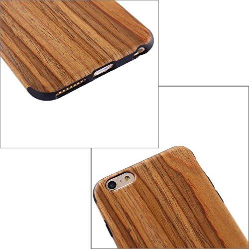 Wkae Case & Cover Pour iPhone 6 Plus &6s plus Walnut Boîtier de protection en bois + PU ( SKU : S-IP6P-0659E ) S-IP6P-0659D