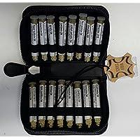 Katzen-Taschenapotheke,-PORTOFREI-,16 Mittel á 1,2g Globuli in UV-Schutzglas-Röhrchen im hochwertigen Leder Etui... preisvergleich bei billige-tabletten.eu