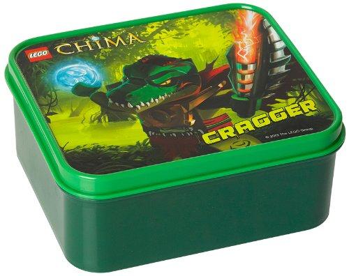 LEGO Legends of Chima Lunch Box, Dark Green -