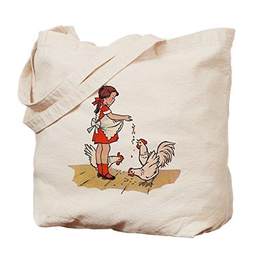 CafePress Tragetasche für Hühnerfutter, canvas, khaki, S