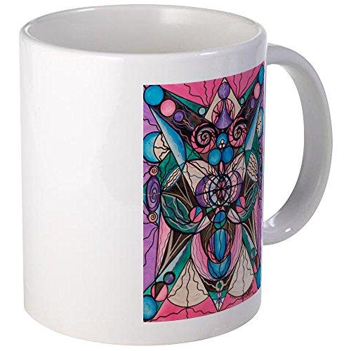 CafePress arcturian guarigione latttice Tazza, Ceramica, Bianco, s