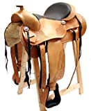 Westernsattel ATLANTA ECO aus Büffelleder hoher Qualität Reining Sattel Neu
