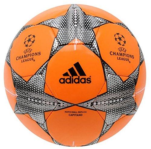 Madrid Glider (Adidas Unisex ao07612015UEFA Champions League Glider Fußball, Orange, Größe 5)