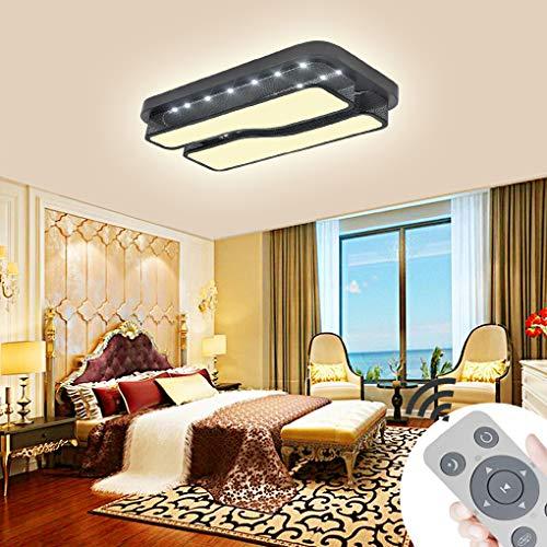 36W Dimmbar Acryl LED Deckenlampe Deckenleuchte Weiß Wohnzimmer Quadrat Modern