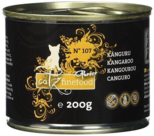 Catz finefood Purrrr No. 107 Känguru, 6er Pack (6 x 0.2 kg)